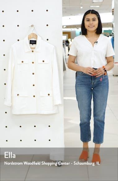 Lafayette 138 New York Tamaya Metropolis Linen Blend Jacket, sales video thumbnail