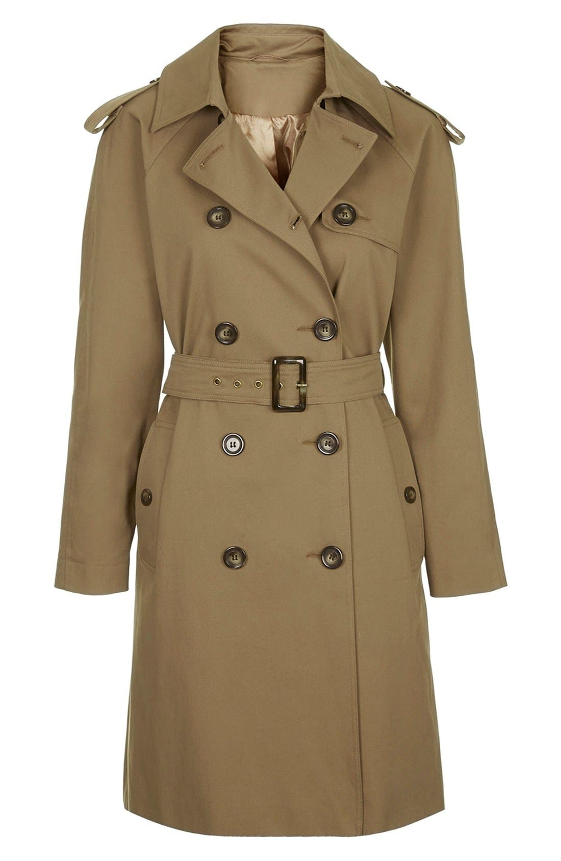 ,                             'Scout' Double Breasted Trench Coat,                             Alternate thumbnail 4, color,                             200