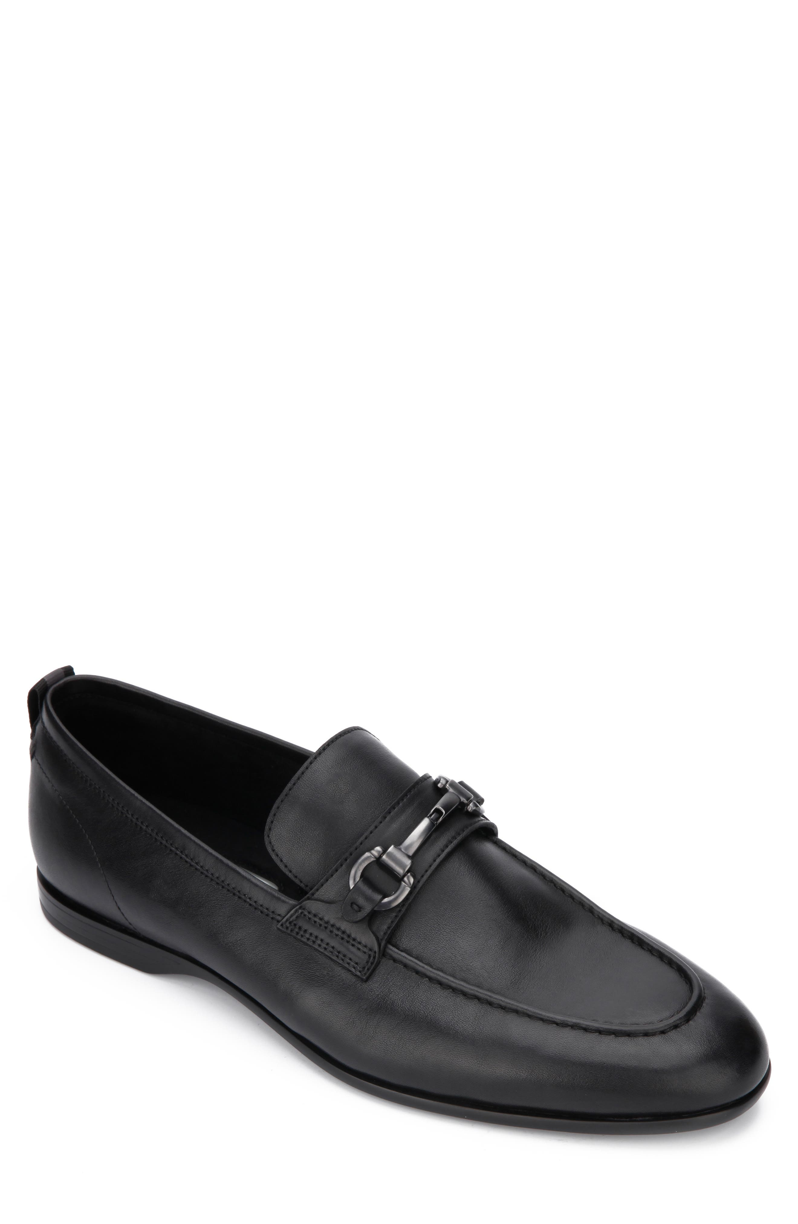 A brushed-metal bit tops a handsome loafer crafted with Rebound System technology for superior comfort. Style Name: Kenneth Cole New York Nolan Bit Loafer (Men). Style Number: 5977675 2. Available in stores.