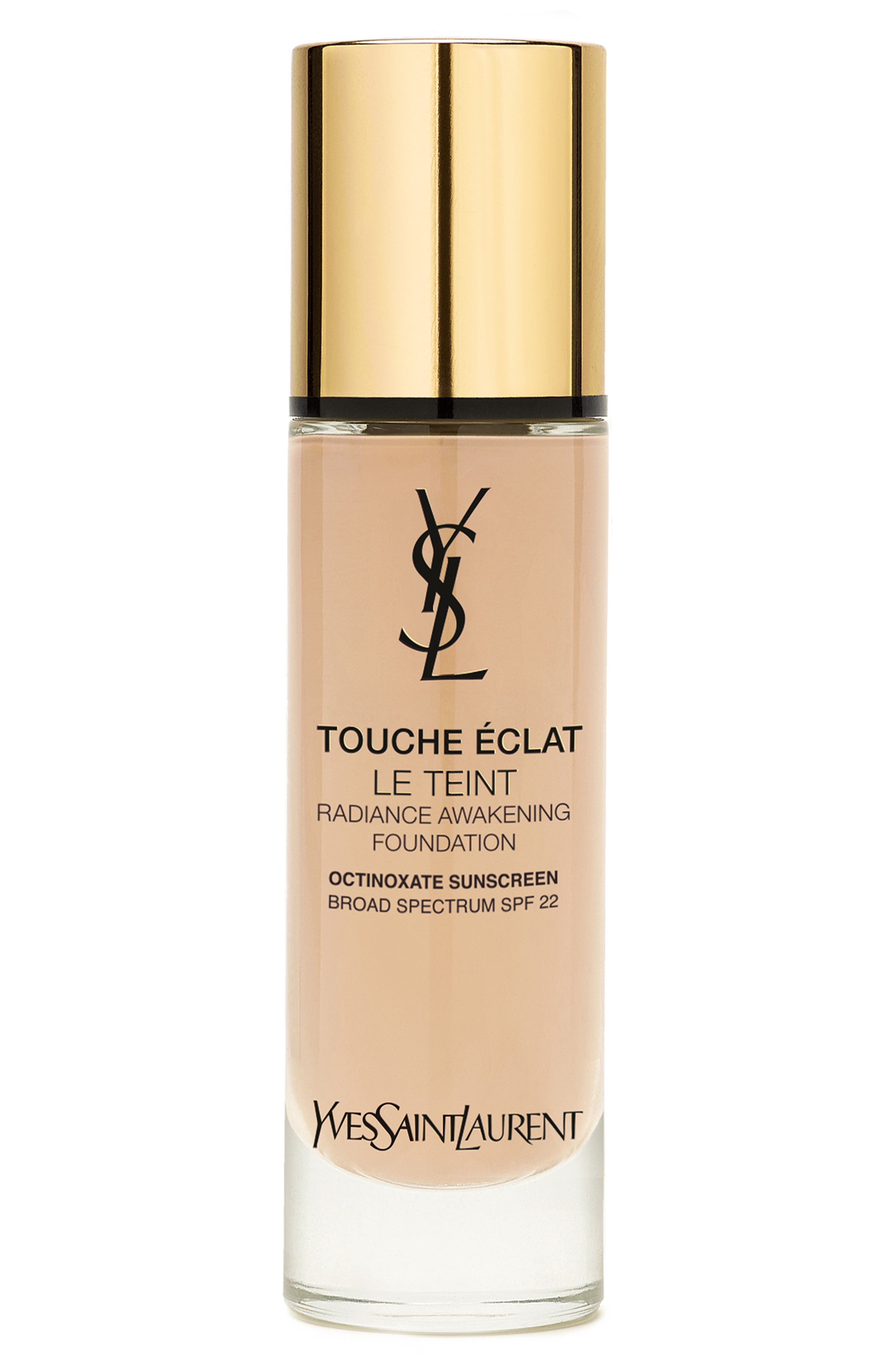 Touche Eclat Le Teint Radiant Liquid Foundation With Spf 22