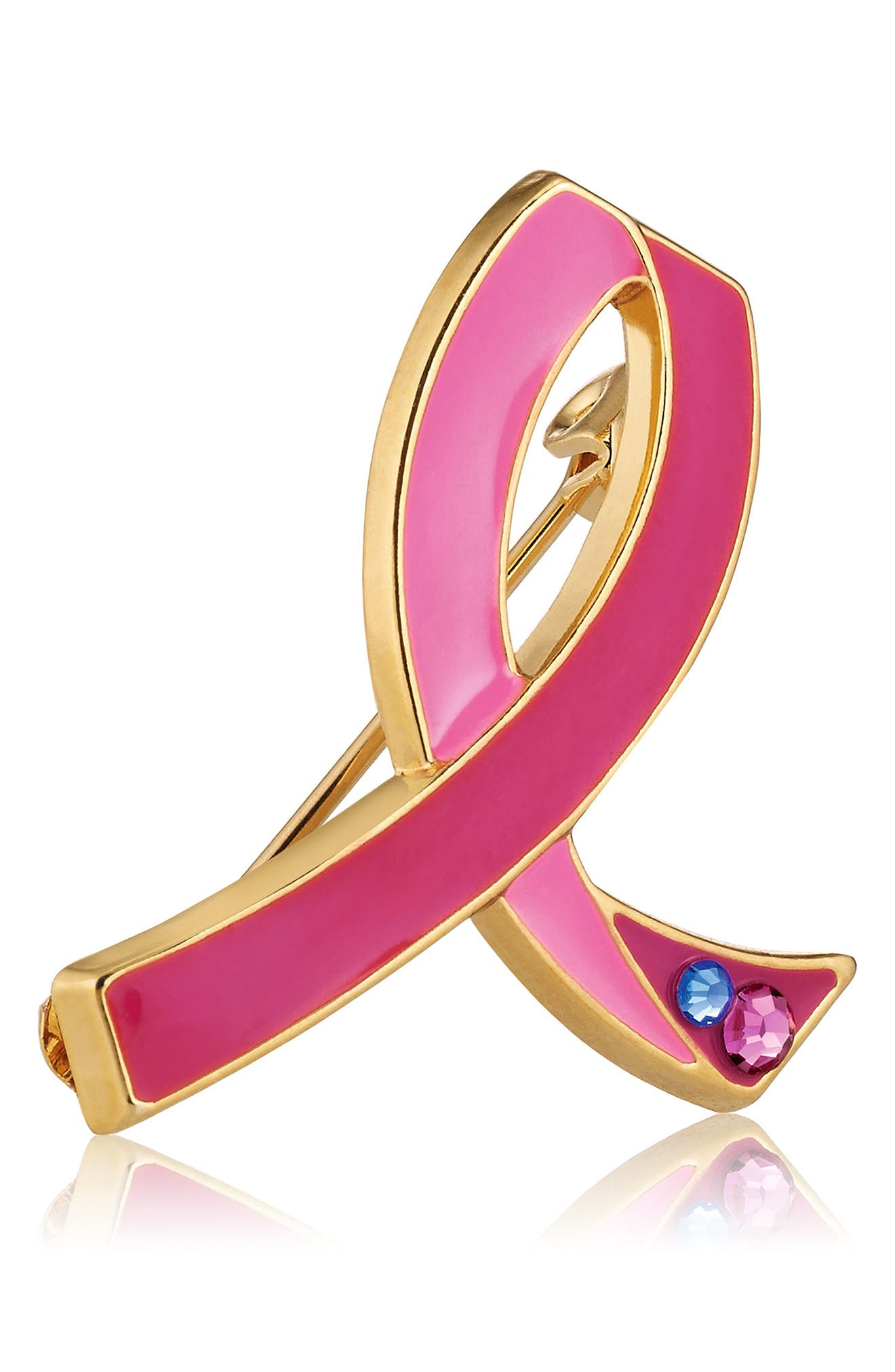 Breast Cancer Research Foundation Pink Ribbon Pin