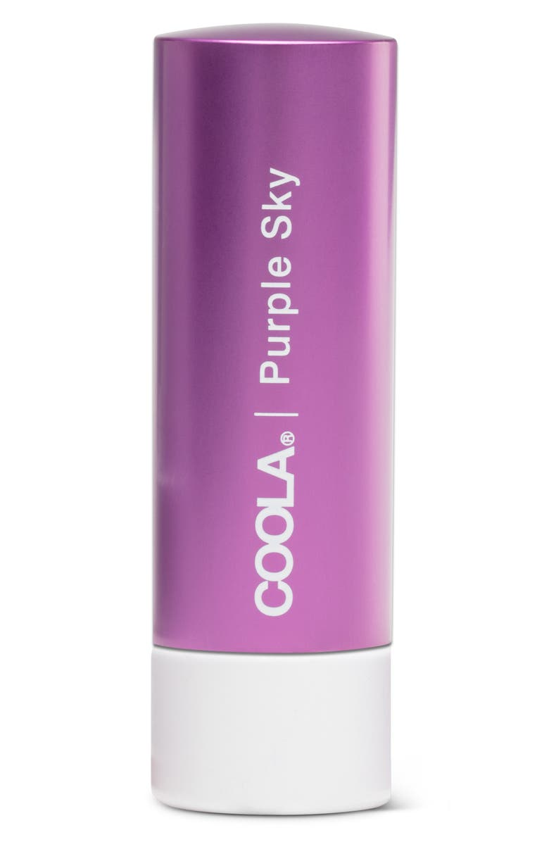 COOLA<SUP>®</SUP> Suncare Mineral Liplux<sup>®</sup> Organic Tinted Lip Balm SPF 30, Main, color, PURPLE SKY