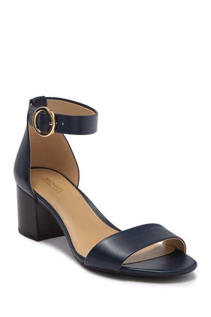 Image of MICHAEL Michael Kors Lena Block Heel Sandal