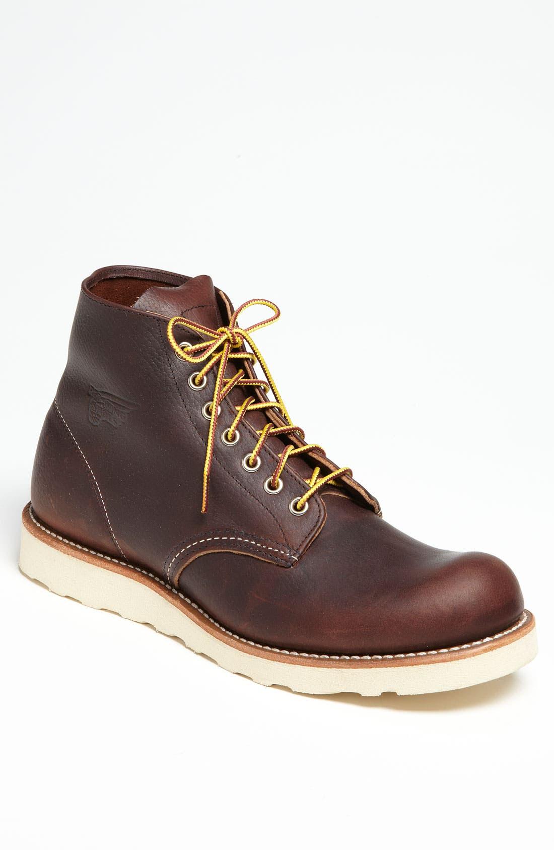 ,                             '8196' Round Toe Boot,                             Main thumbnail 1, color,                             200
