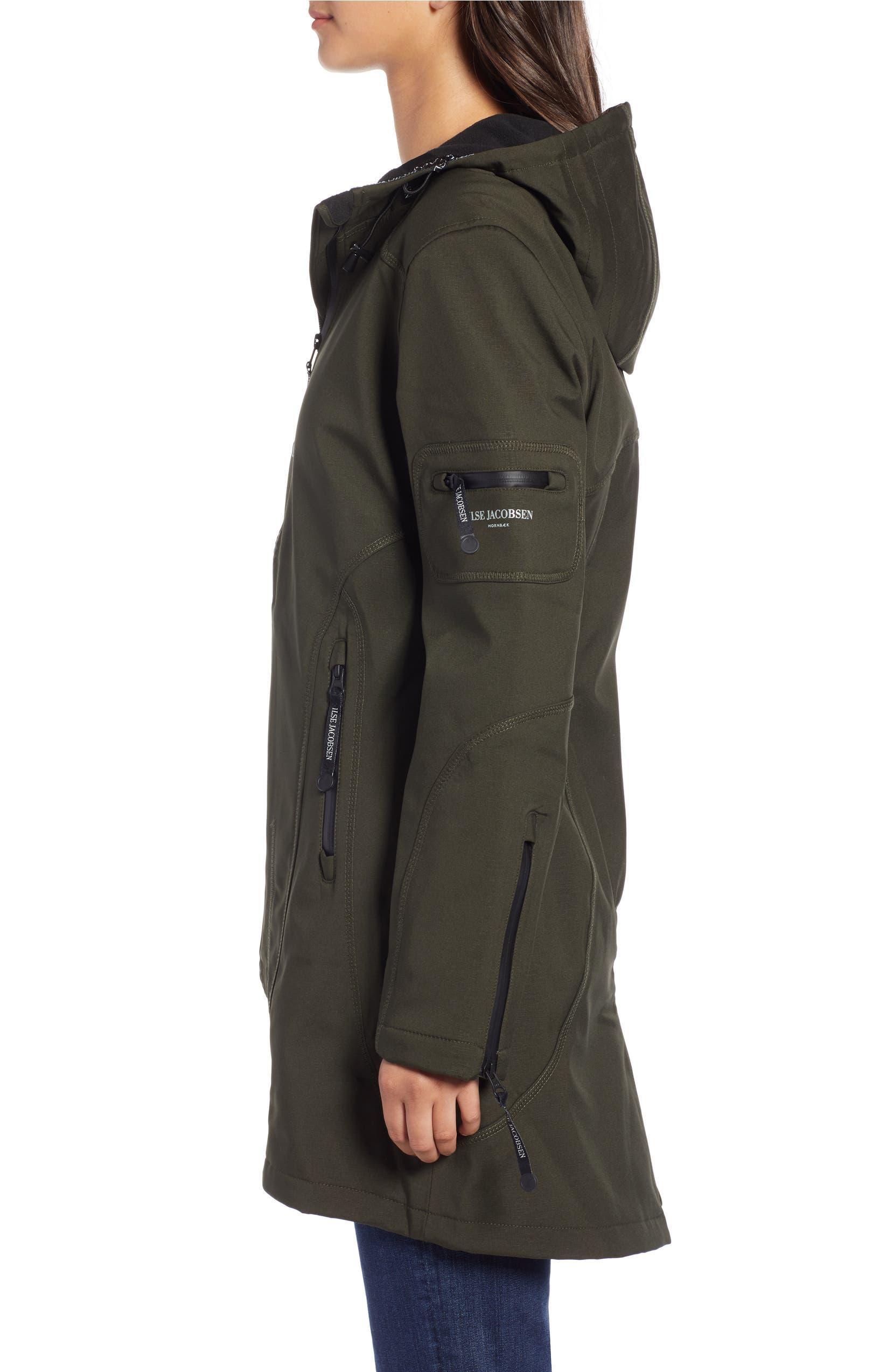 0301f9ef2c4 Ilse Jacobsen Rain 7 Hooded Water Resistant Coat