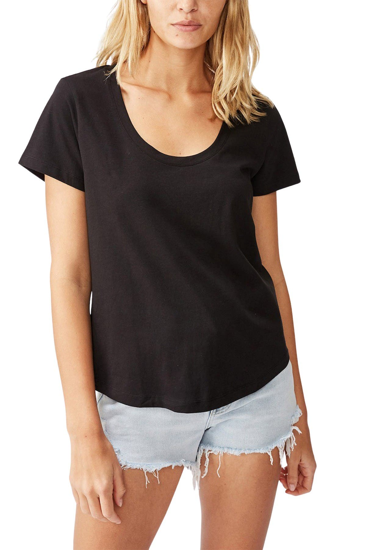 Image of Cotton On The One Scoop T-Shirt