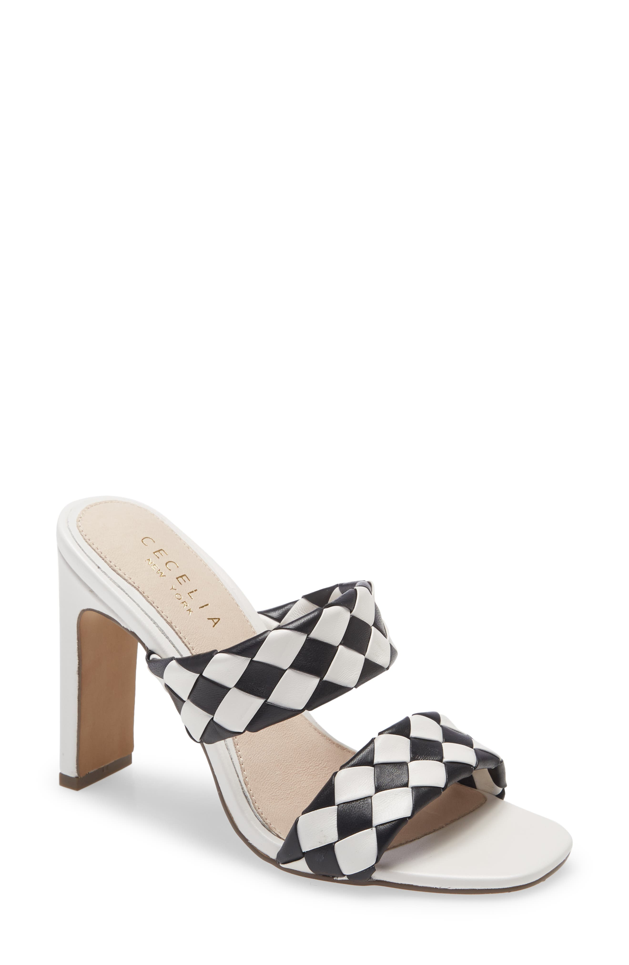 Women's Cecilia New York East To West Woven Sandal