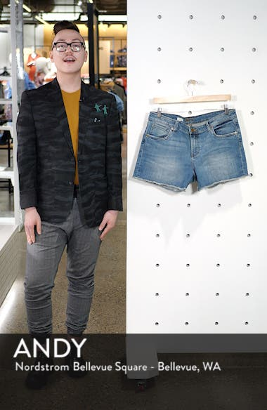 Gidget Denim Shorts, sales video thumbnail