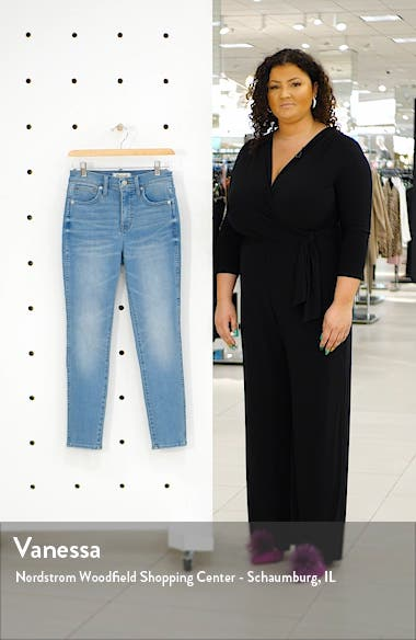 10-Inch High Waist Crop Skinny Jeans, sales video thumbnail