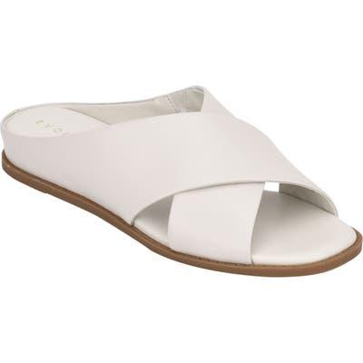 Evolve Odyssa Slide Sandal- Ivory