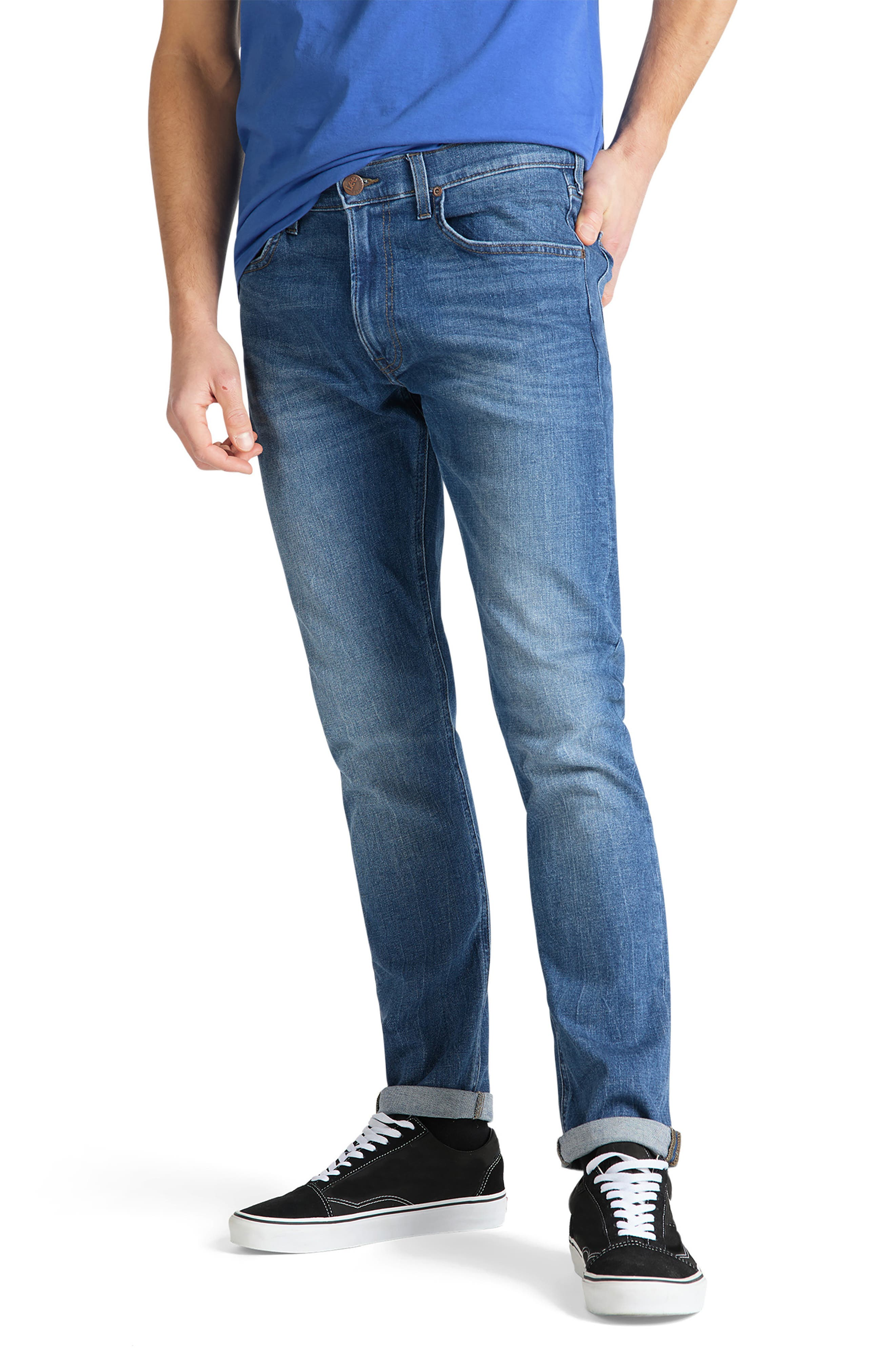Men's Big & Tall Lee Modern Luke Tailored Slim Fit Tapered Jeans