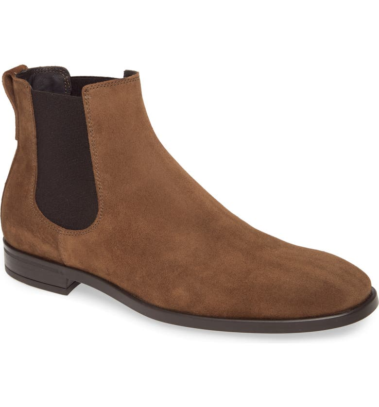 TO BOOT NEW YORK Kelley Mid Chelsea Boot, Main, color, SIENNA SUEDE