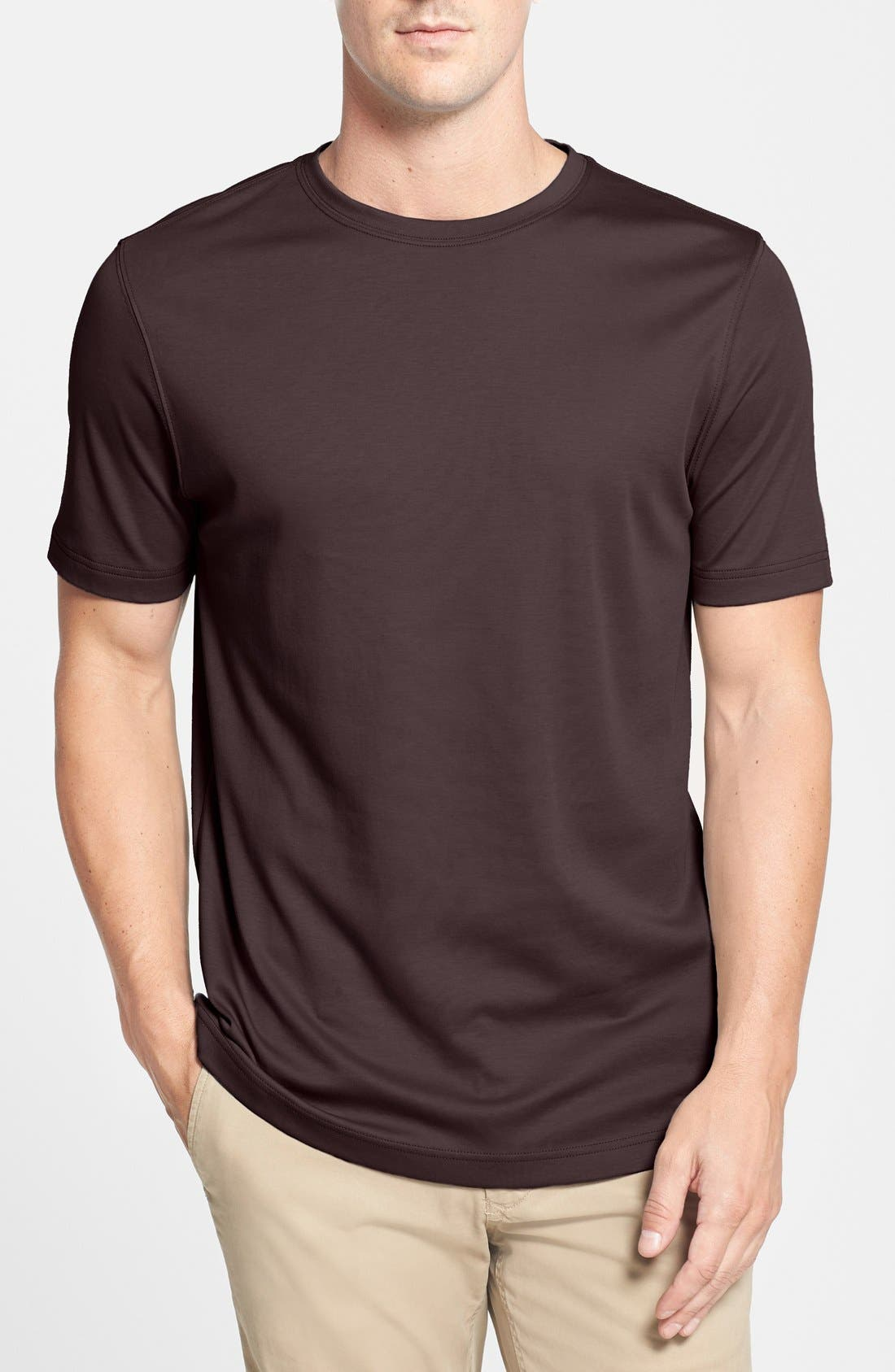 ,                             Georgia Crewneck T-Shirt,                             Main thumbnail 427, color,                             602