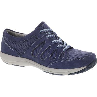 Dansko Heather Sneaker-7- Blue