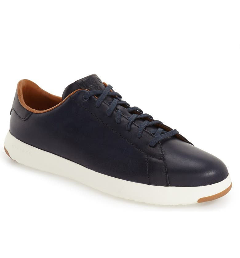 GrandPro Low Top Sneaker, Main, color, BLAZER BLUE LEATHER