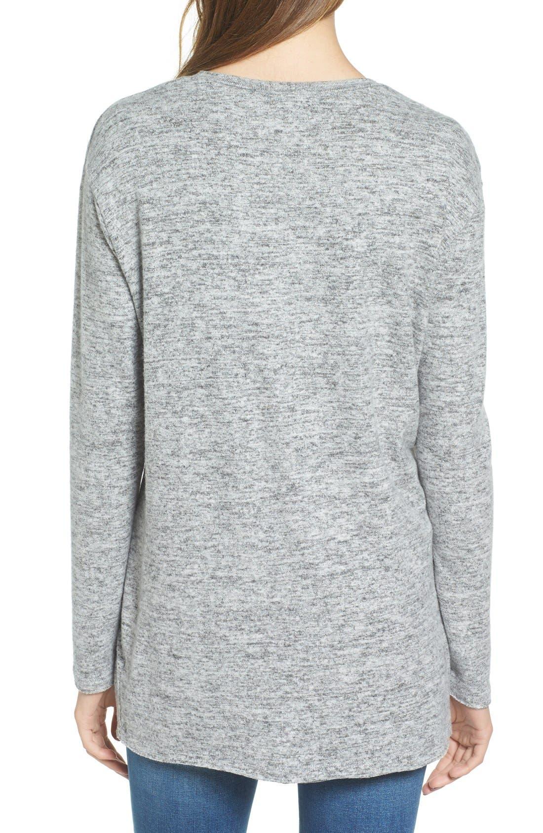 ,                             Cozy V-Neck Sweater,                             Alternate thumbnail 47, color,                             030