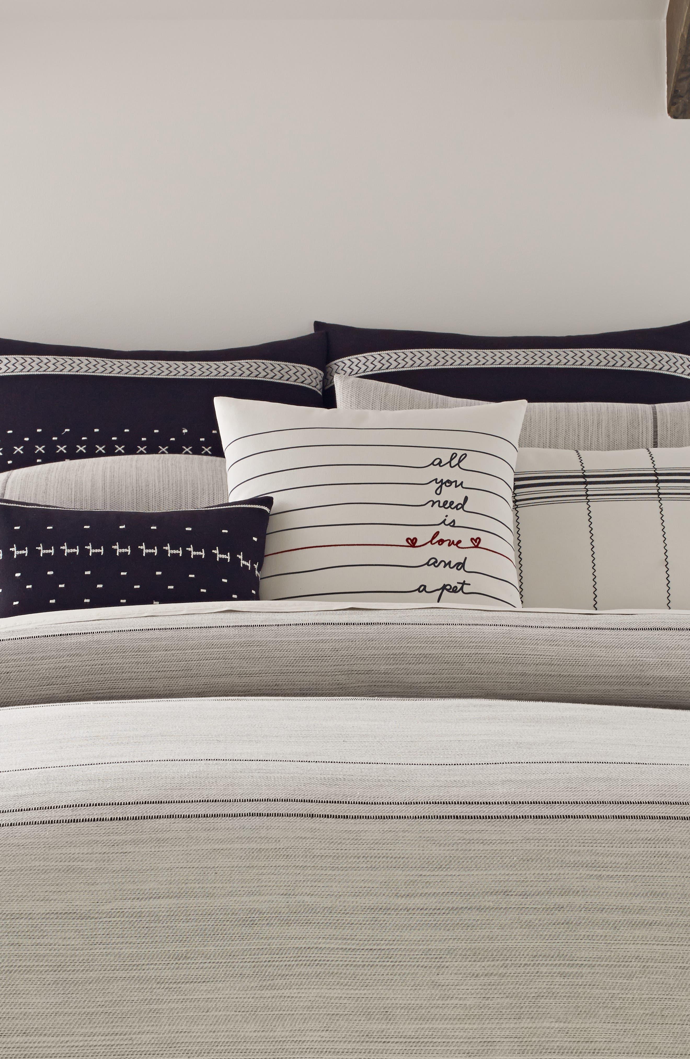 ,                             Alta Comforter & Sham Set,                             Alternate thumbnail 2, color,                             GREY