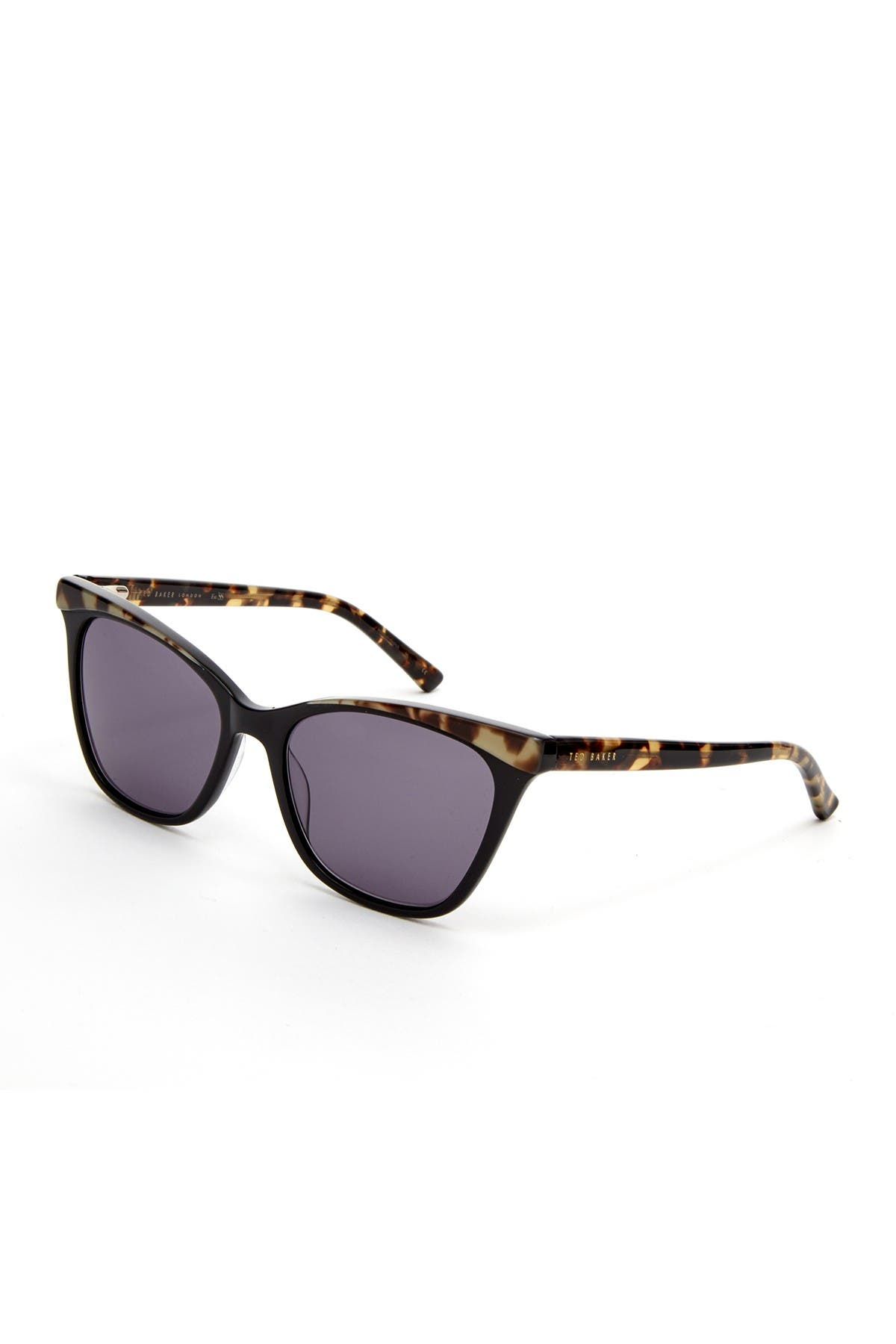 Image of Ted Baker London 57mm Plastic Square Cat Eye Sunglasses