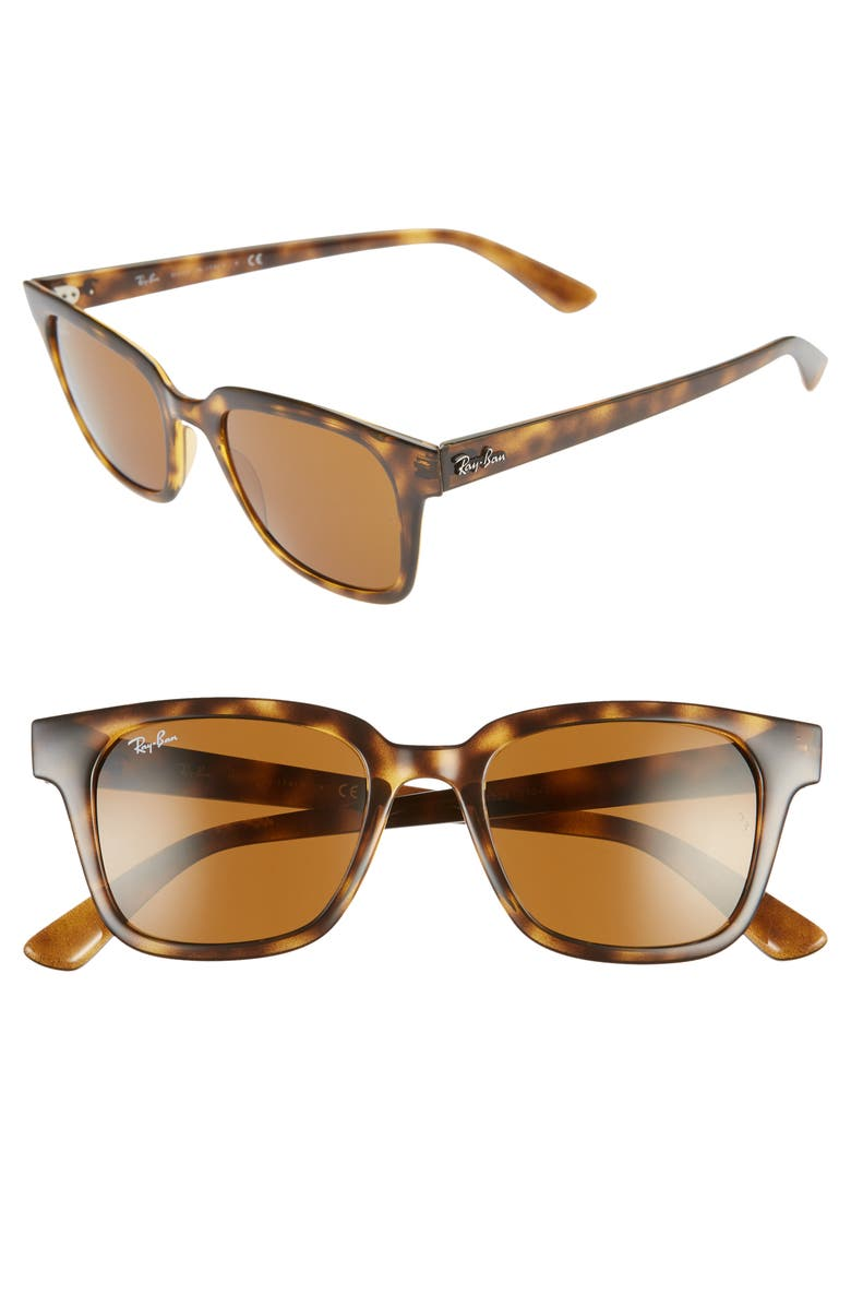 RAY-BAN Wayfarer 51mm Sunglasses, Main, color, HAVANA