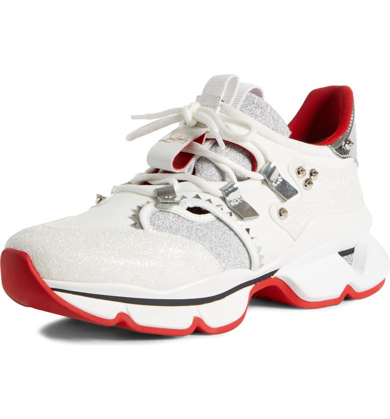 Red Runner Sneaker by Christian Louboutin