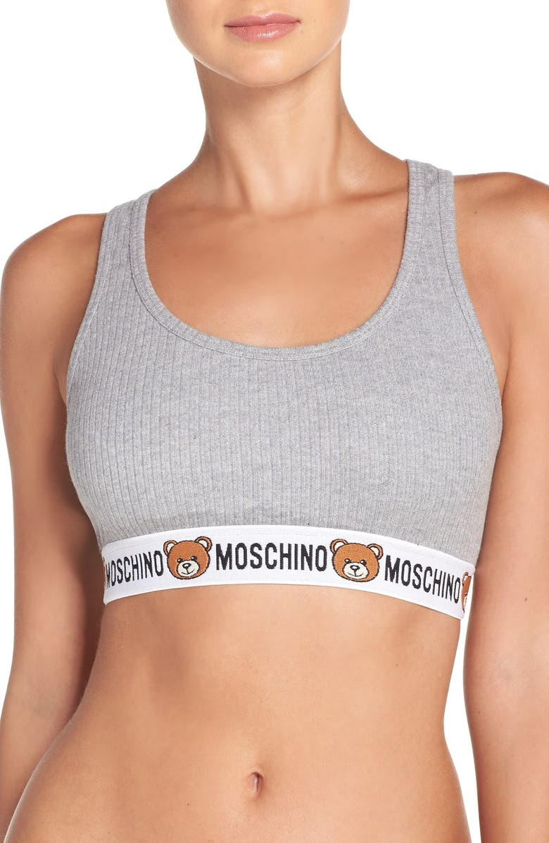 f7706a56c544 Moschino Cotton Bralette | Nordstrom