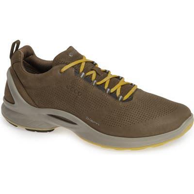 Ecco Biom Fjuel Perforated Sneaker, Brown