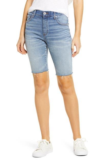 Jag Jeans VALENTINA PULL-ON CUTOFF DENIM BERMUDA SHORTS