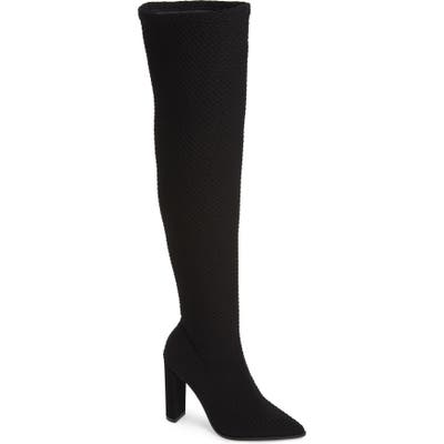Alias Mae Blade Mesh Over The Knee Boot, Black