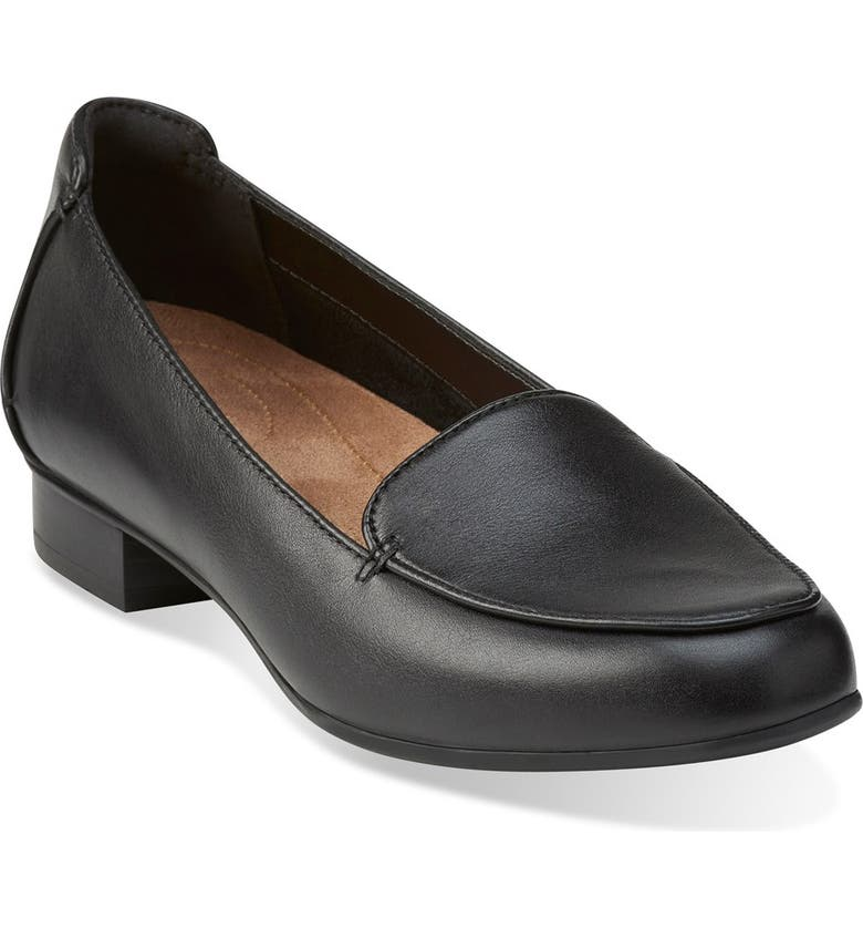 CLARKS<SUP>®</SUP> 'Keesha Luca' Loafer, Main, color, 005