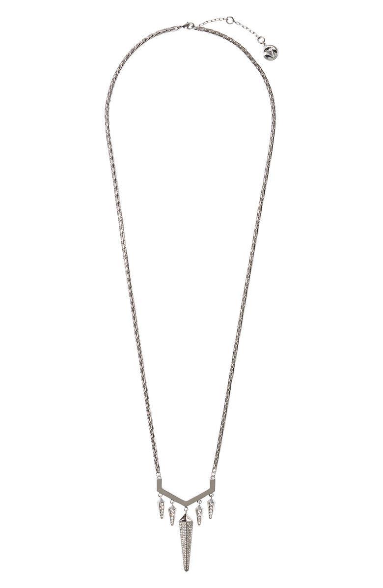 VINCE CAMUTO Pavé Pendant Necklace, Main, color, 100