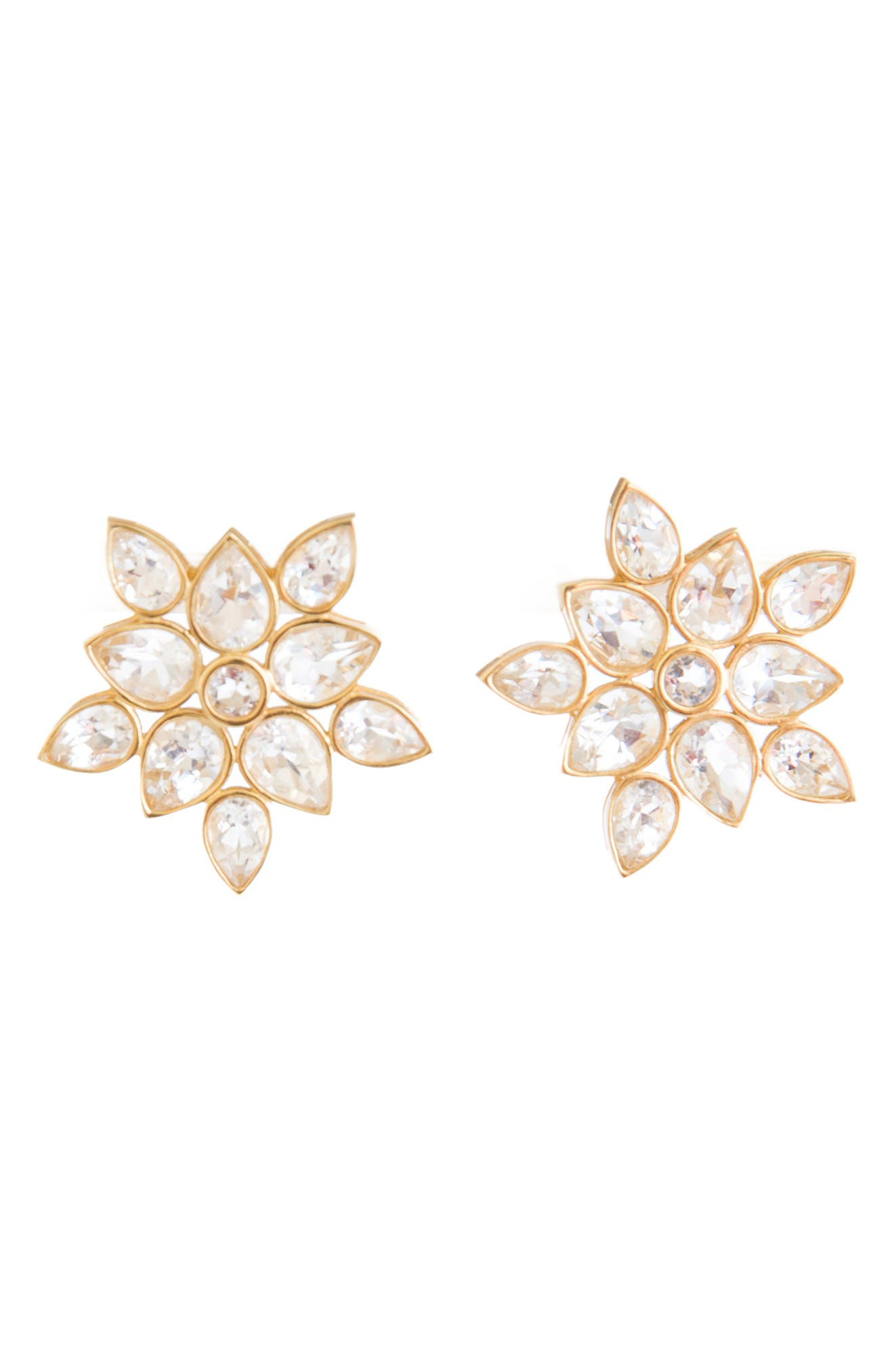 Heather Crystal Stud Earrings