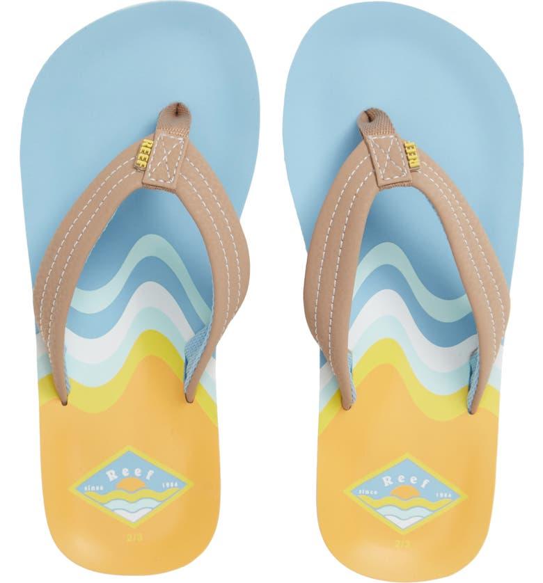 REEF Ahi Flip Flop, Main, color, OCEAN SAND