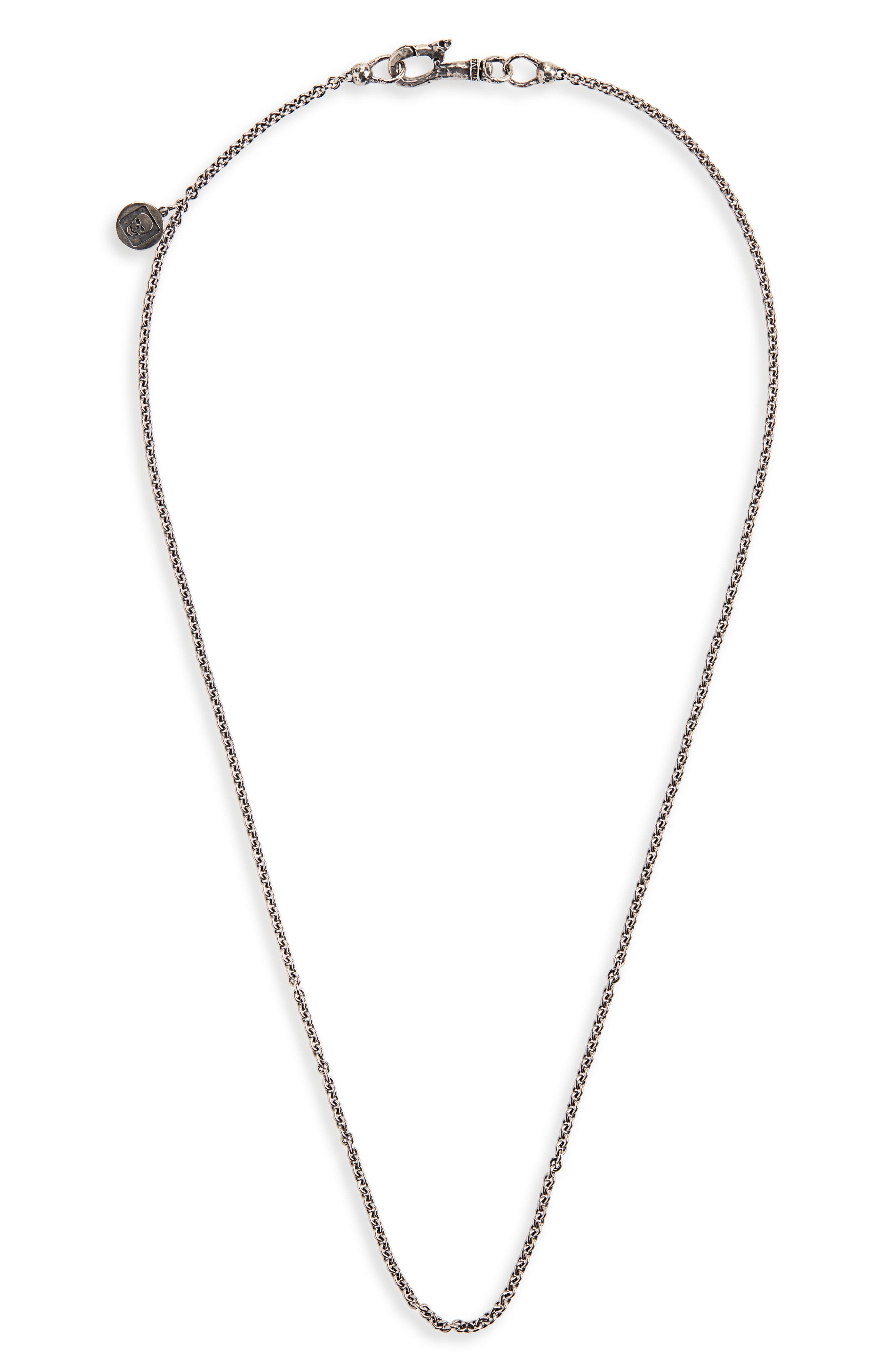 Skull Chain Necklace