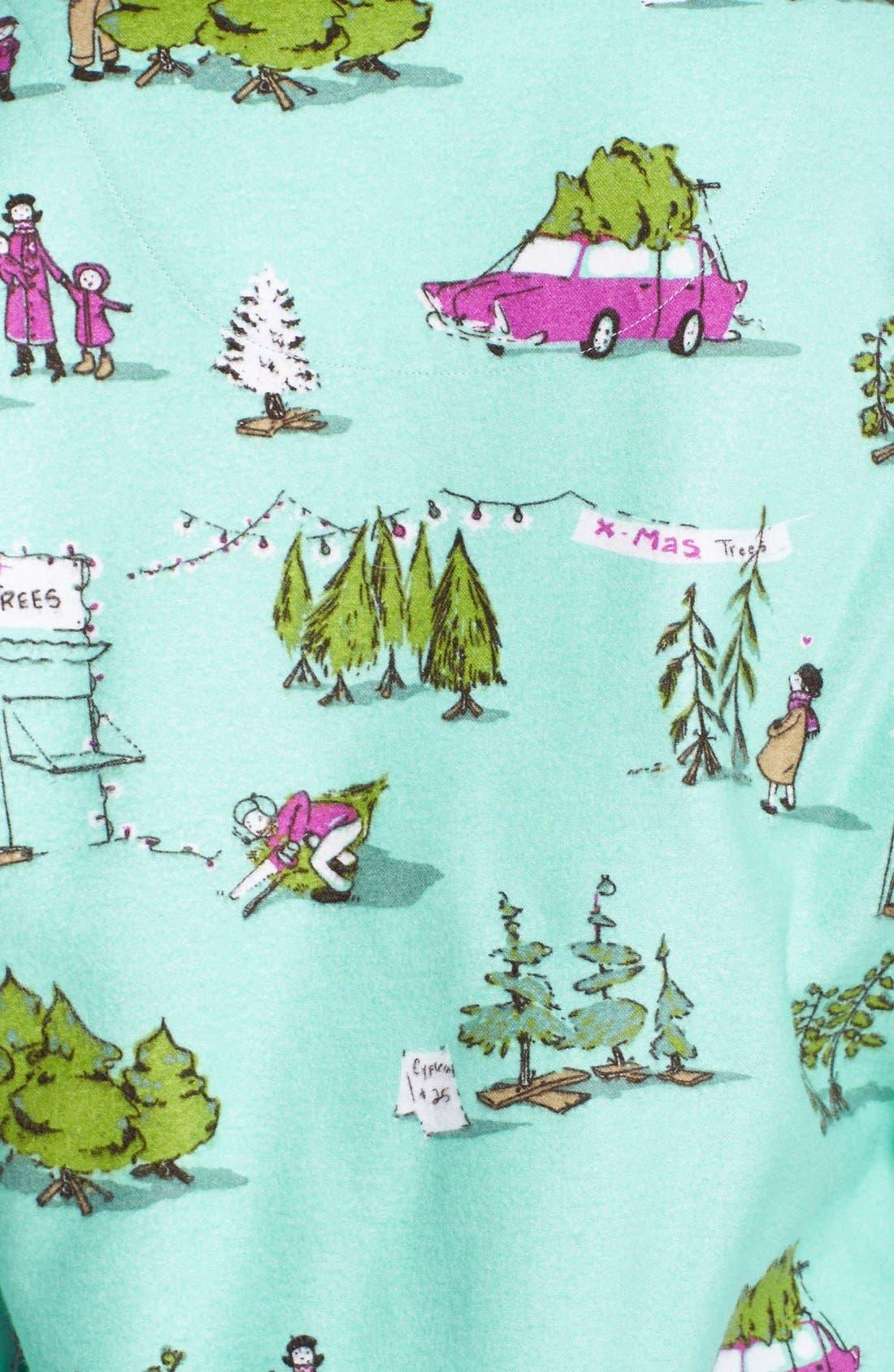 ,                             Flannel Pajamas,                             Alternate thumbnail 43, color,                             445