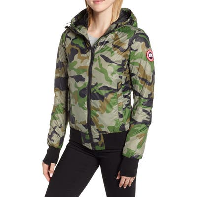 Canada Goose Dore Down Hooded Jacket, Green