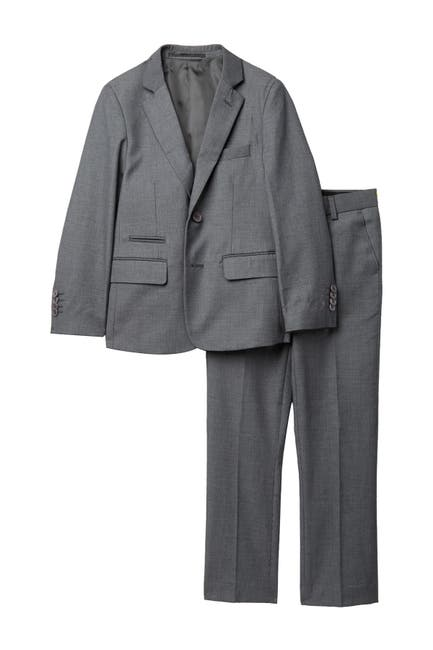 Image of Isaac Mizrahi 2-Piece Suit - Husky Sizes Available