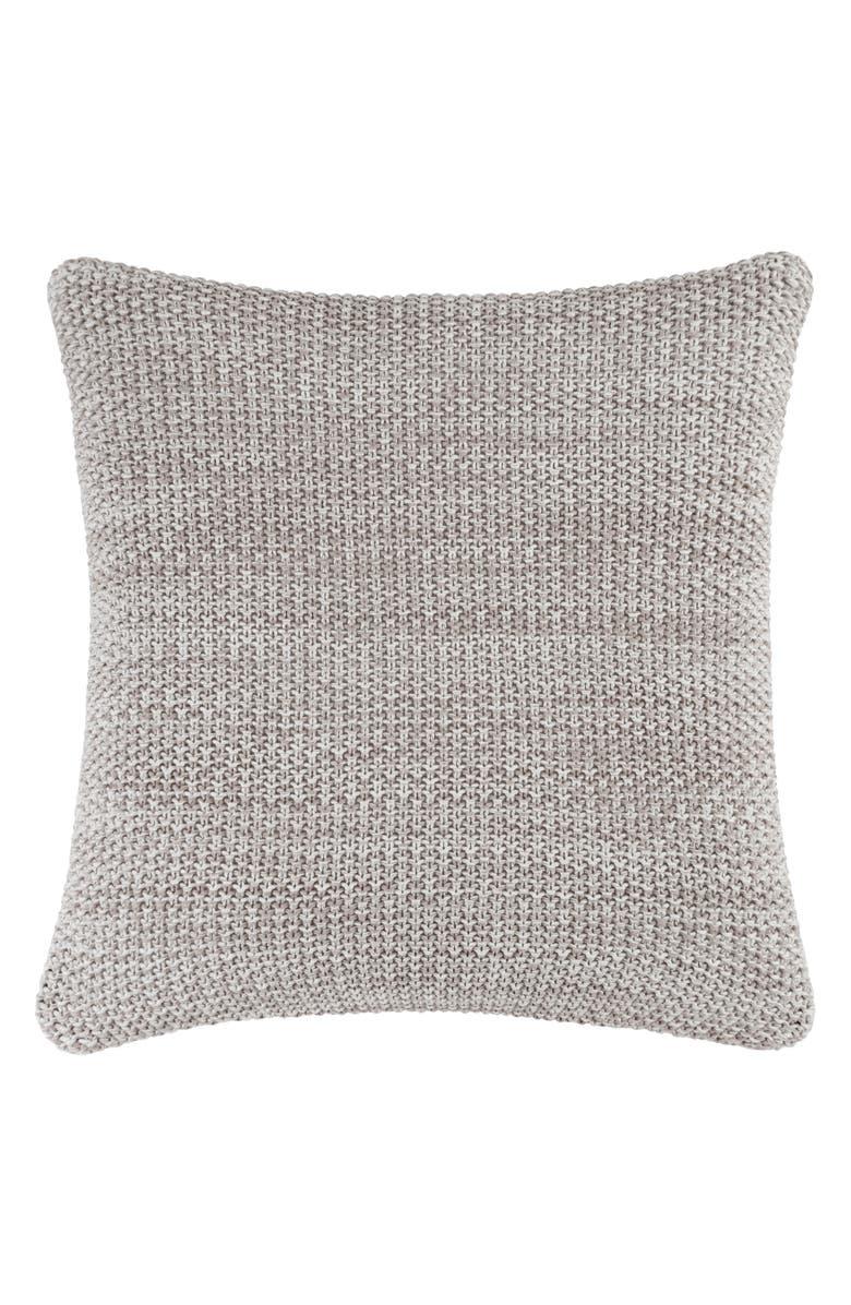 SFERRA Orino Accent Pillow, Main, color, WHITE/TAUPE