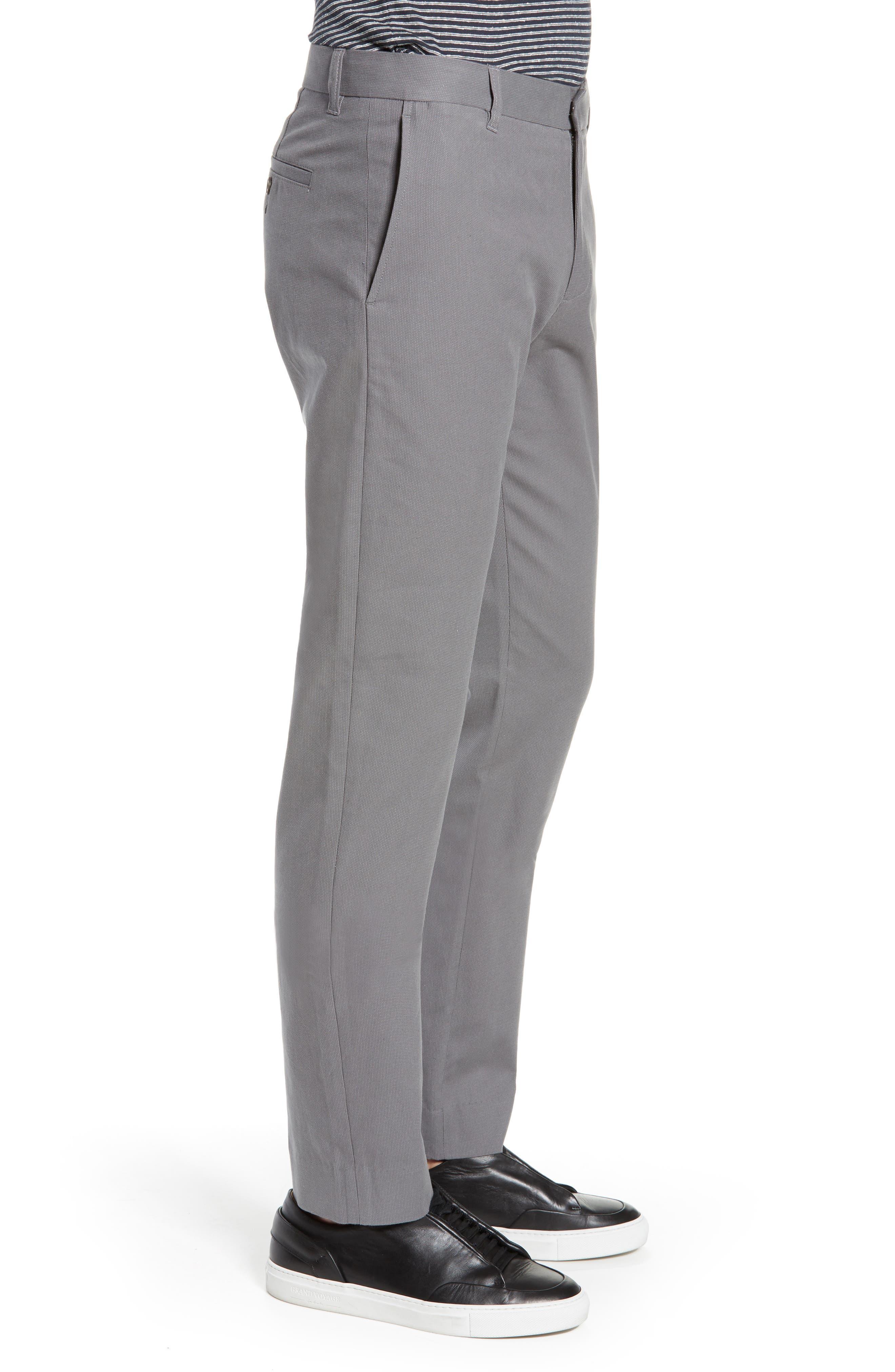 ,                             Griffith Slim Cut Pants,                             Alternate thumbnail 4, color,                             SLATE
