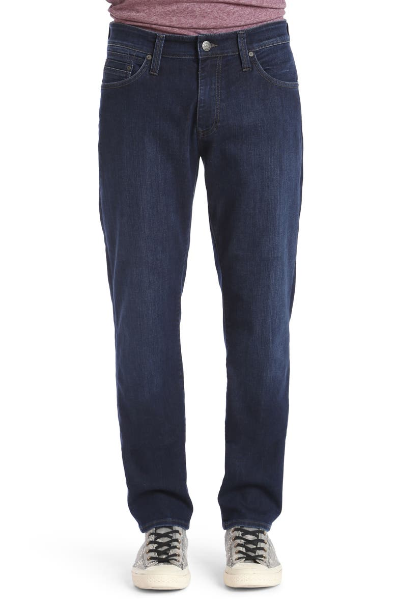 MAVI JEANS Matt Relaxed Fit Jeans, Main, color, DEEP CLEAN COMFORT