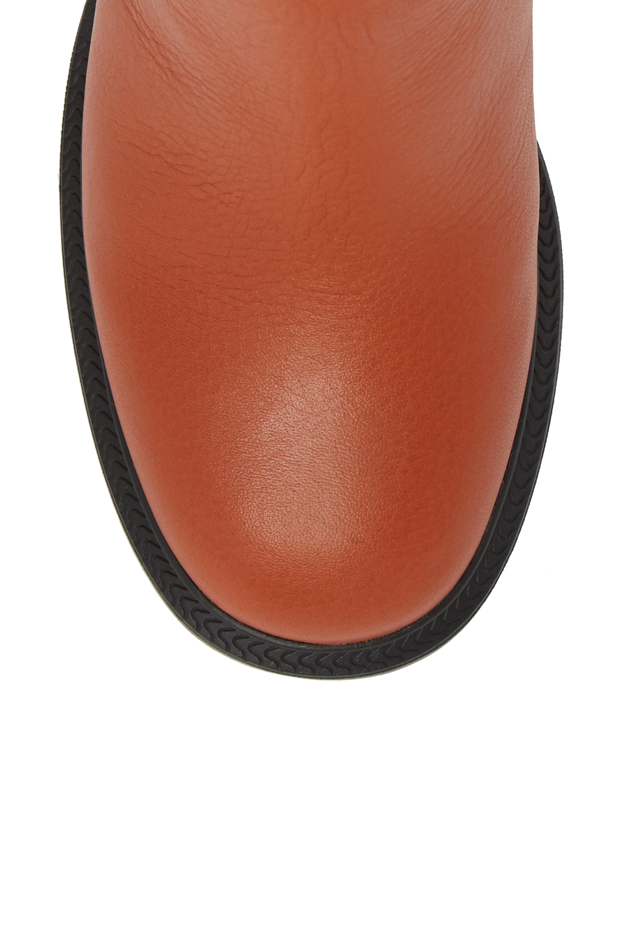 ,                             Whitnee Bootie,                             Alternate thumbnail 5, color,                             RUST COPPER LEATHER/ BLACK