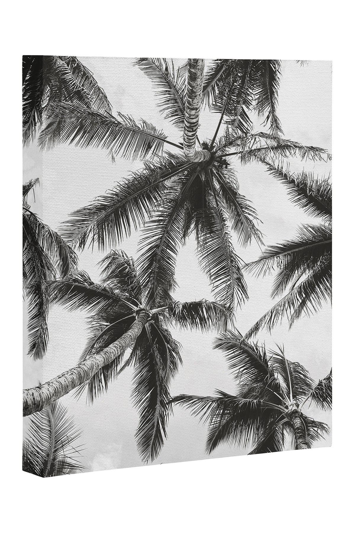 Image of Deny Designs Bree Madden Under The Palms Art Canvas