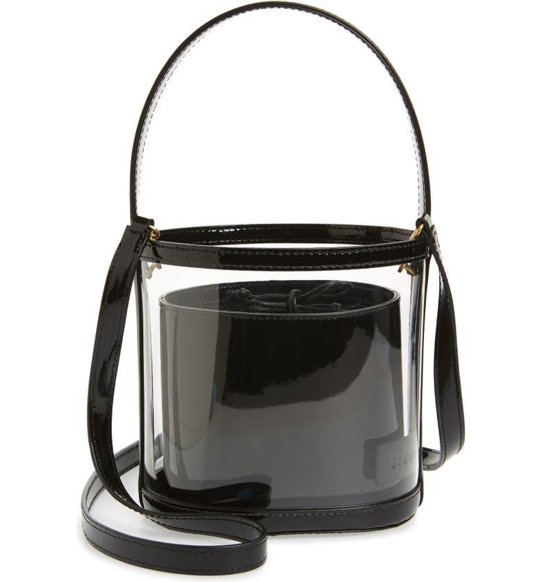 STAUD Bissett Transparent Bag, Main, color, 001
