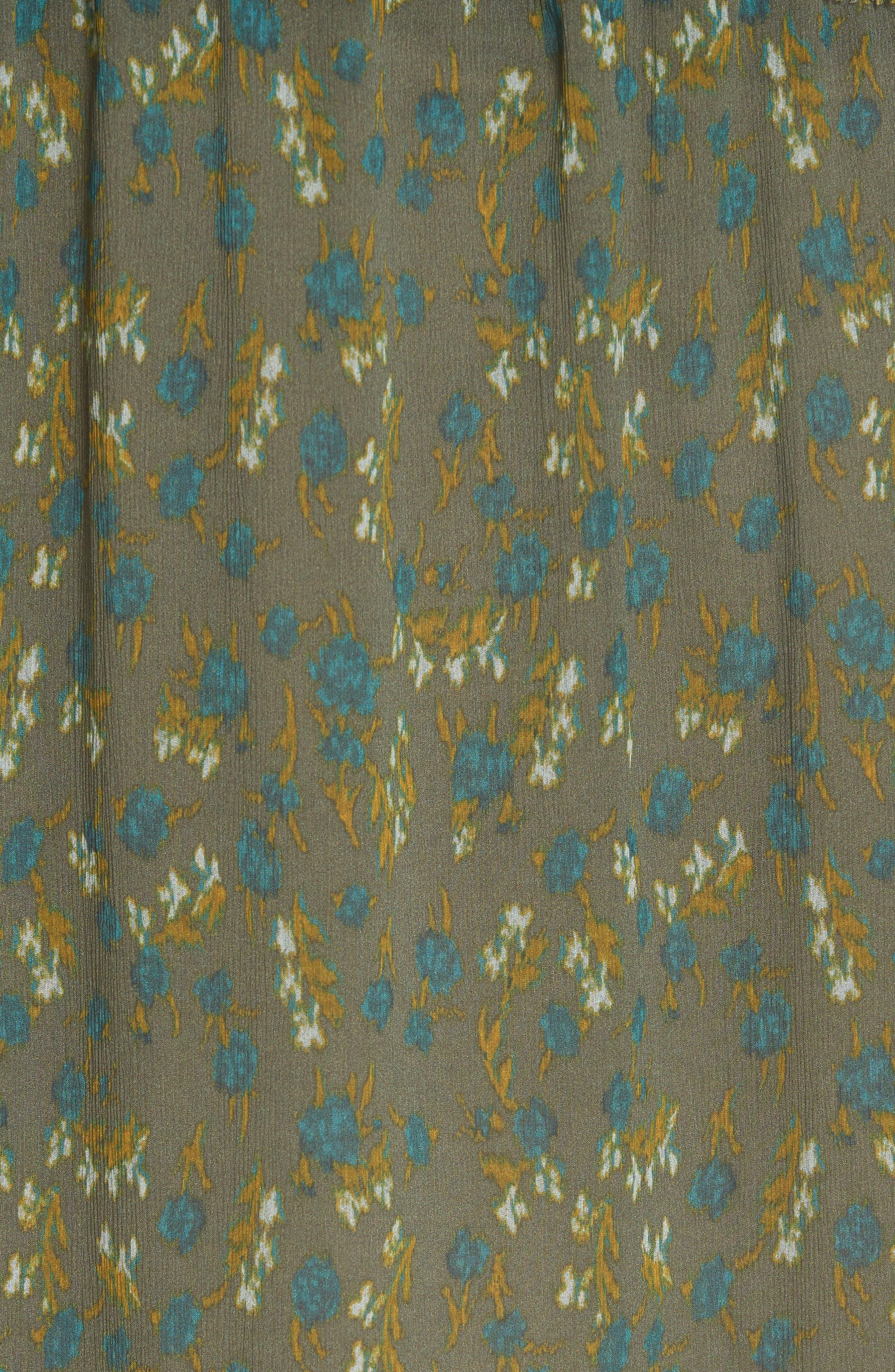 ,                             Dinah Silk Dress,                             Alternate thumbnail 12, color,                             346