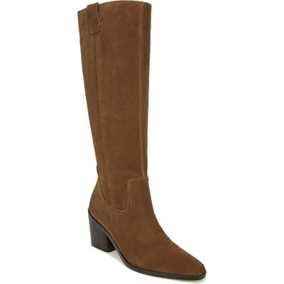 27 Edit Bellamy Knee High Boot Regular Calf- Brown