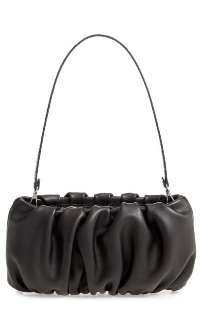 Staud Leathers BEAN LEATHER CLUTCH