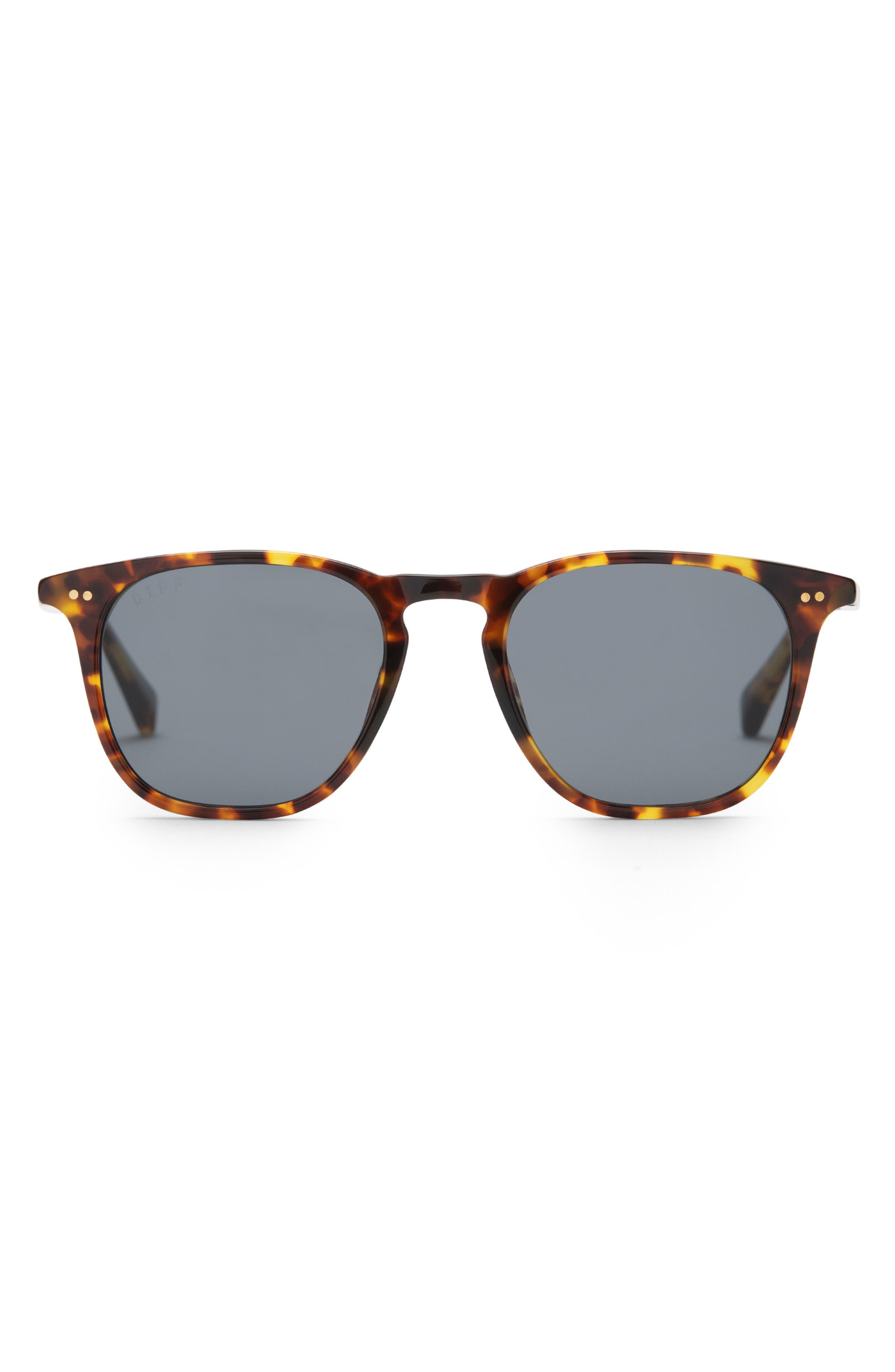 Maxwell 49mm Polarized Round Lens Sunglasses
