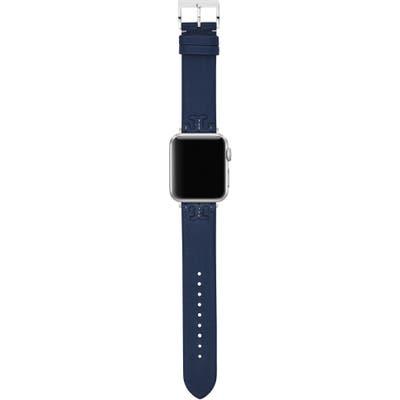 Tory Burch Mcgraw Leather Apple Watch Strap