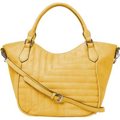 Urban Originals Iconic Vegan Leather Tote - Yellow