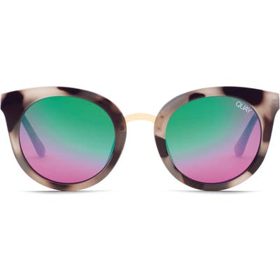 Quay Australia Shook Cat Eye 51Mm Sunglasses -