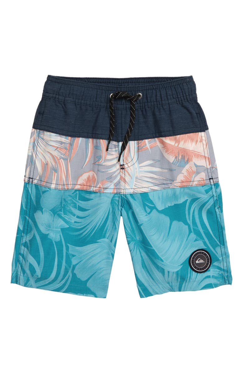 QUIKSILVER Multiply Volley Shorts, Main, color, MOONLIT OCEAN